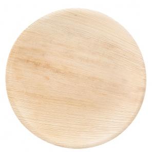 Okrągła płyta organiczna | liść palmowy,410613