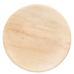 Okrągła płyta organiczna | liść palmowy,410614