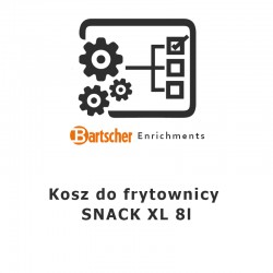 "Kosz do frytown. ""SNACK XL"", 8l Bartscher Nr art.165527"