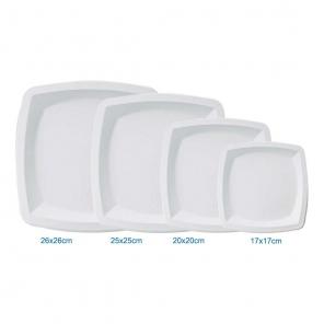 Biodegradowalny kwadrat płytki   trzcina cukrowa 41020
