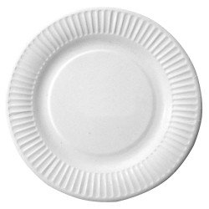 Okrągłe talerze papierowe | karton 41510