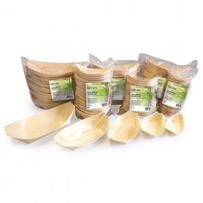 Biodegradowalna łódź spożywcza   drewno sosnowe 38831