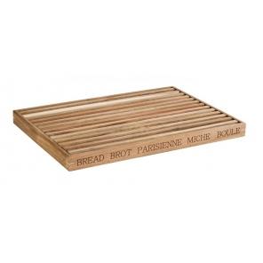 Deska drewniana do krojenia LETTER, wym. 48x34 cm, APS 00886