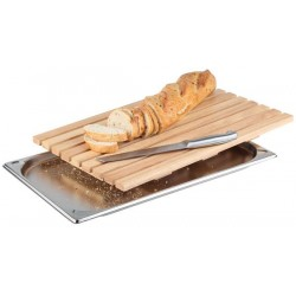 Deska drewniana do krojenia z pojemnikiem na okruchy GN 1/1, APS 00951