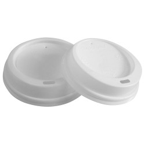 Biodegradowalne pokrywy do kubków 9 cm| CPLA 40046