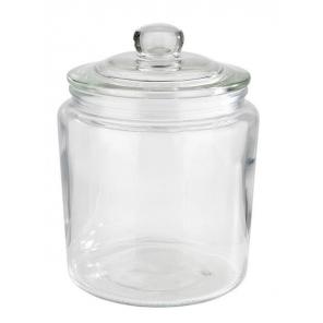 Słój szklany z pokrywką szklaną CLASSIC, poj. 0,9 l, APS 82250
