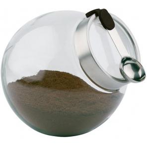 Pojemnik szklany z pokrywą i łyżeczką, poj. 3 l, APS 00636
