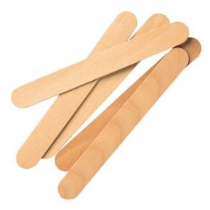Drewniana szpatułka do ust w dozowniku | brzozowy