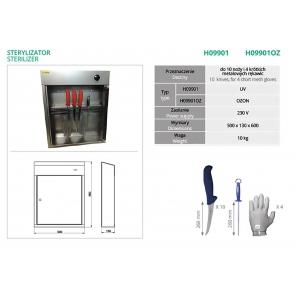 Sterylizator UV H09901