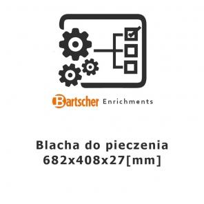 Blacha do pieczenia 682x408x27 Bartscher, 150958