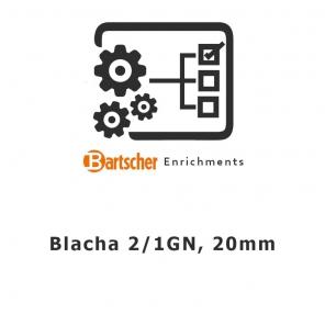 Blacha 2/1GN, 20mm, Bartscher, A101181