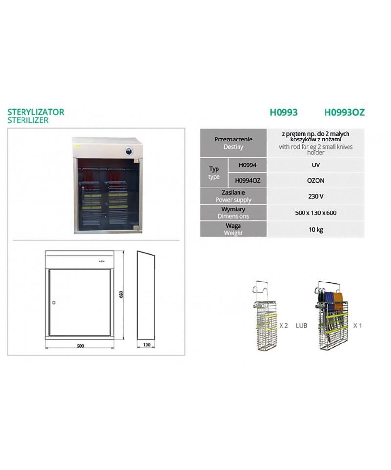 Sterylizator UV H09903