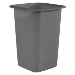 Koszyk na sztućce z melaminy czarny 12x12 cm, APS 84536