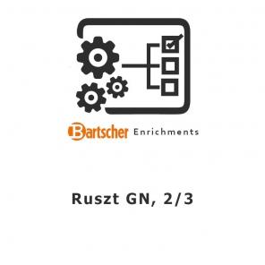Ruszt GN, 2/3 Bartscher, 133212