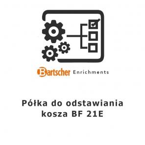 Półka do odstawiania kosza BF 21E Bartscher, 101402