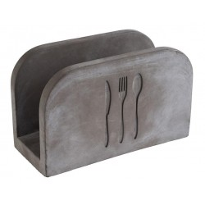 Serwetnik betonowy ELEMENT, wym. 16x7,5 cm, APS 11781