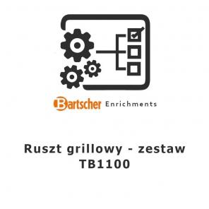 Ruszt grillowy - zestaw TB1100 Bartscher, 106206