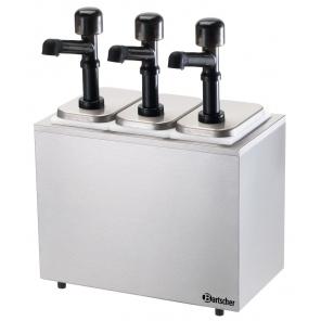 Dyspenser, 3 pompki 3x3,3L Bartscher 100323
