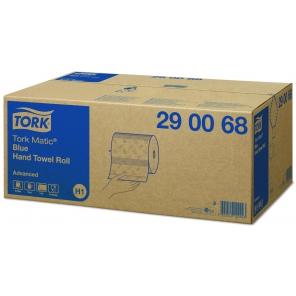 Tork Matic® niebieski ręcznik w roli Advanced 290068