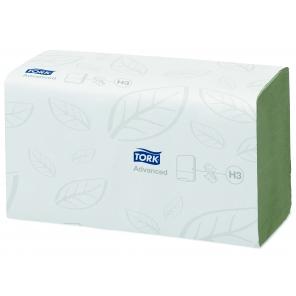 Tork ręcznik w składce ZZ zielony Advanced 290179