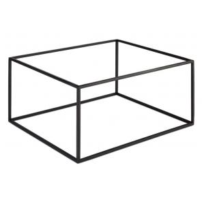 Stojak bufetowy ASIA PLUS GN 1/3 / GN 2/3, podstawa bufetowa, z metalu, czarny, APS 15506