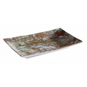 Taca prostokątna AQUARIS  z melaminy, 21.0 x 13.0 cm APS 84744