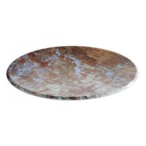 Talerz okrągły AQUARIS z melaminy,śr.35 cm APS 84747