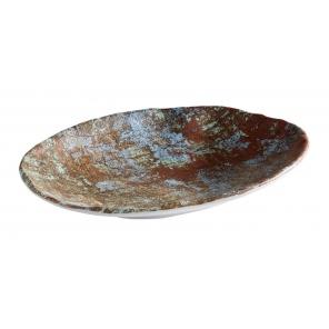 Talerz okrągły  AQUARIS  z melaminy,24.0 x 17.0  cm APS 84748