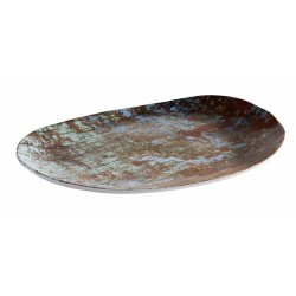 Talerz owalny AQUARIS  z melaminy, 40.5  x 30.0  cm APS 84749