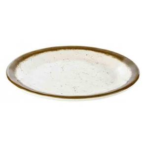 Talerz płytki STONE ART z melaminy 19x2 cm, APS 84510