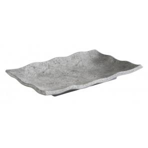 Taca prostokątna ELEMENT, z melaminy, wym. 22,5 x 15 cm, APS 84823