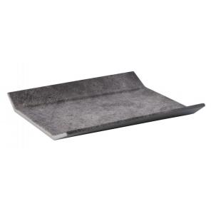 Taca prostokątna ELEMENT GN 1/2 z melaminy optyka betonu 32,5X26,5 cm, APS 84401