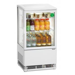 Witryna chłodnicza Bartscher Mini 58L, biała  700258G