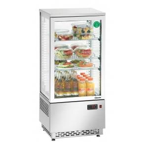Mini witryna chłodnicza 78L, Bartscher, CrNi DG 700478G