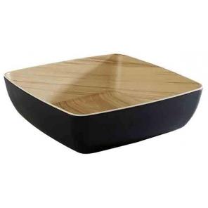 Miska kwadratowa FRIDA z melaminy biała 2.65 l, APS 84561