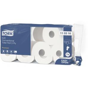 Tork papier toaletowy do dozownika z automatyczną zmianą rolek miękki Premium – 3 warstwy110316