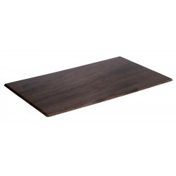 Melamine OAK tray brown...