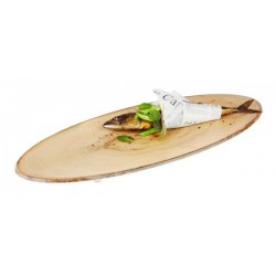 TIMBER oval tray, chopping...