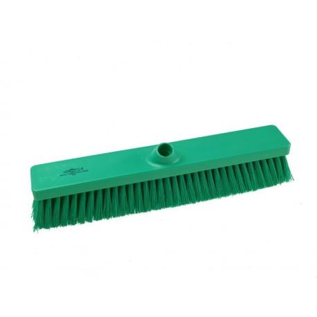 Szczotka do zamiatania,średnio twarda z podwójnym  mocowaniem włosia B809RES