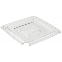 Square lid with a PURE...
