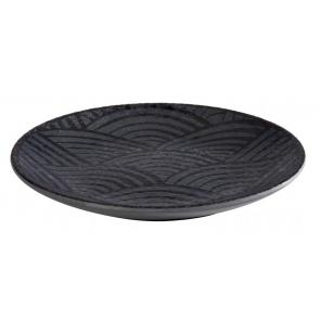Round plate DARK WAVE,...