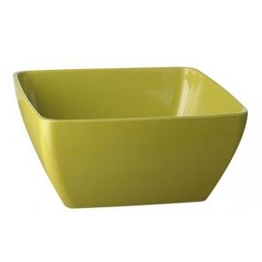 PURE square bowl green...