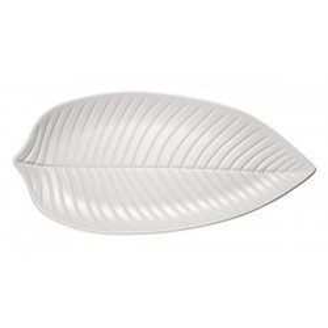 Leaf shaped plate NATURAL...