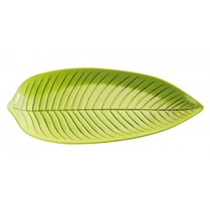 Leaf shaped platter NATURAL...