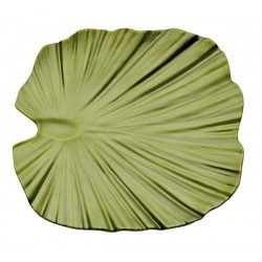Palm leaf shaped tray...