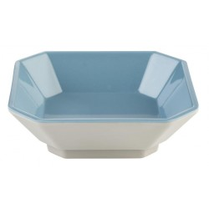 Mini square bowl, gray and...