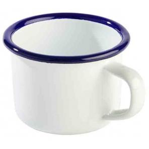 Enamel mug ENAMELWARE white...