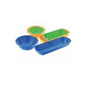 Forma do garowania chleba prostokątna niebieska 1500 g 42 x 14 cm, 50002.48779