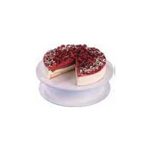 Taca PATERA okrągła biała na tort/ciasta fi 32 cm, 50002.43061