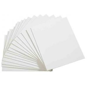 Etykiety do klamerek białe - zestaw: 50 szt., APS 71498